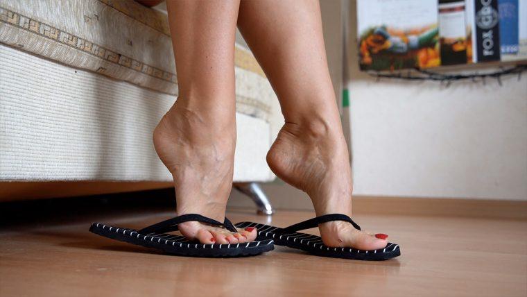 nice female feet