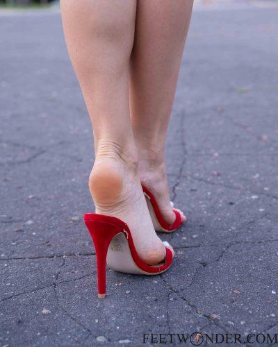 Sexy Soles In High heels