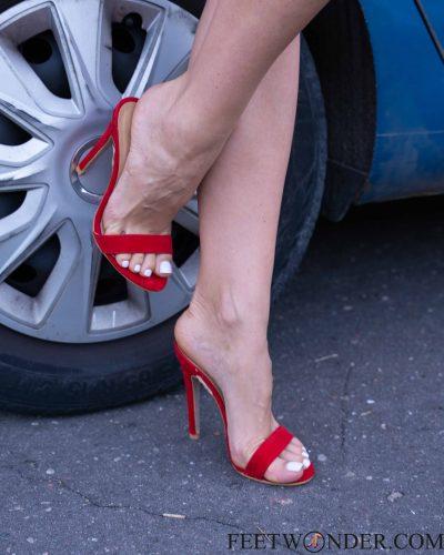 Feet Sex Red